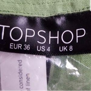 Topshop Dresses - Linen Dress